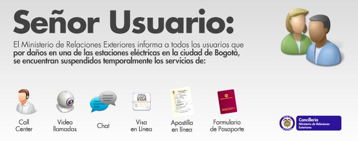 El ministerio de relaciones exteriores informa que for Ministerio de relaciones interiores espana