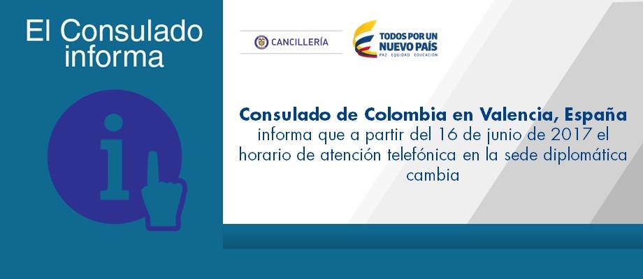 Consulado de colombia en valencia espa a - Oficinas de atencion a la ciudadania linea madrid ...