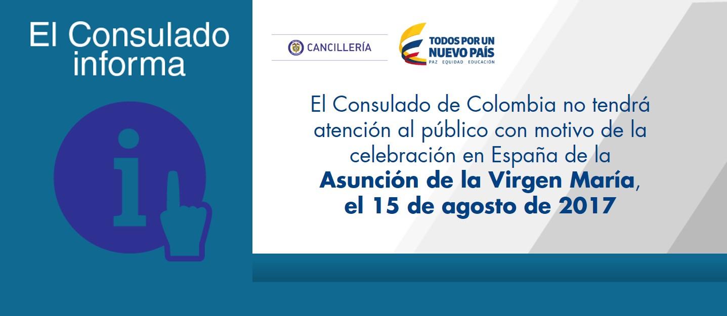 Consulado de colombia en valencia espa a for Oficina de atencion al ciudadano linea madrid