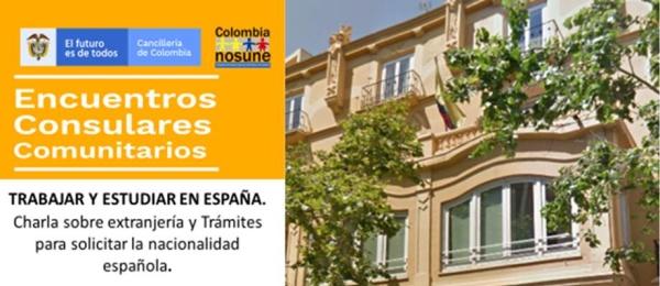 15 de noviembre: Consulado en Valencia realizará Charla sobre Trámites de Extranjería